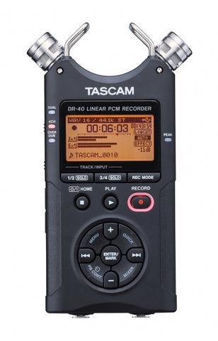 Tascam DR-40X Digital Audio Recorder and USB Interface