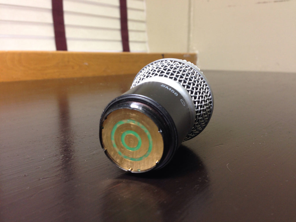 Shure SM58 capsule for SM58 wireless mic