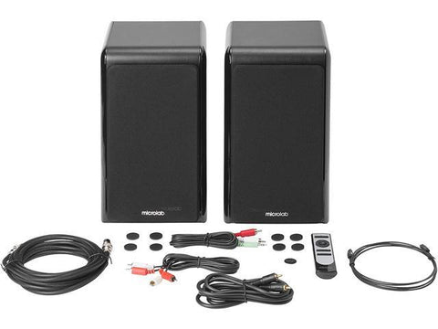 Microlab SOLO 16 High Power Bluetooth Bookshelf Speakers