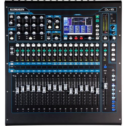 Allen & Heath Qu-16 Digital Mixer (Chrome Edition)