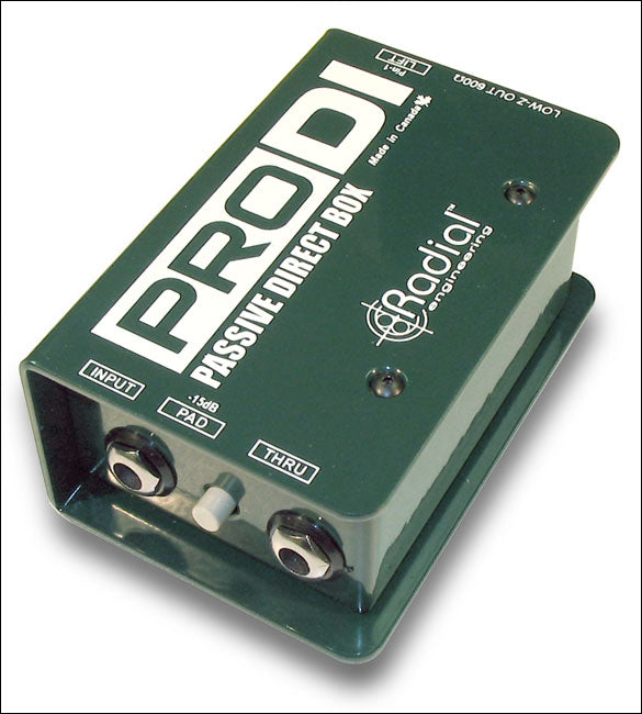 Radial Pro D1 Passive Direct box