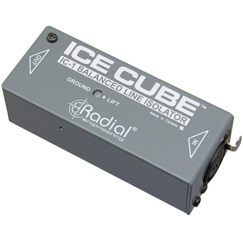 Radial IceCube IC-1 Line Isolator and Hum Eliminator