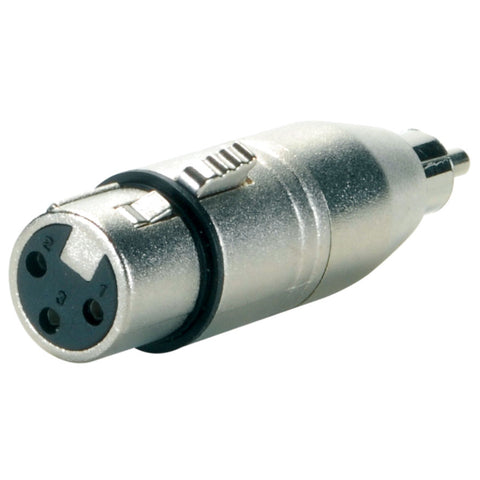 XLR F/M to RCA Male Adapter