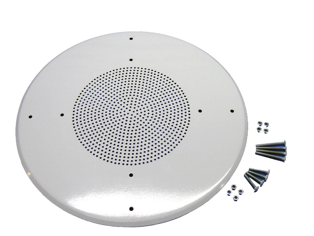 "12.5"" Ceiling or Wall Speaker grill white"