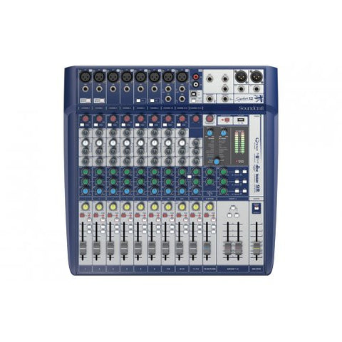 Soundcraft Signature 12, Compact Analog Mixer with USB