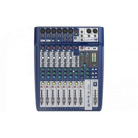 Soundcraft Signature 10, Mixer with USB