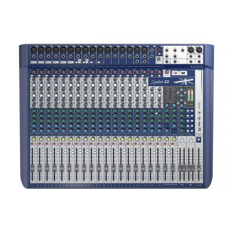 Soundcraft Signature 22, Compact Analog Mixer with USB