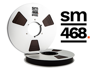 "SM468 Standard Output Tape, 1/4"" Width"
