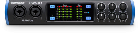 Presonus Studio 68c 6x6 USB-C Audio Interface