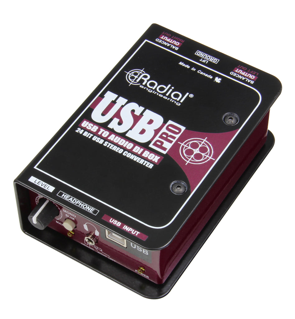 Radial USB-Pro Digital Direct Box