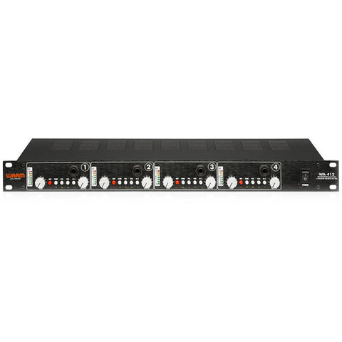 Warm Audio WA-412 4-Channel Mic Preamp