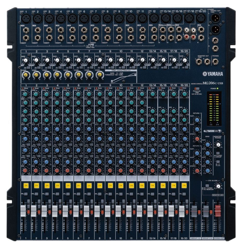 MG206C-USB Mixing Console