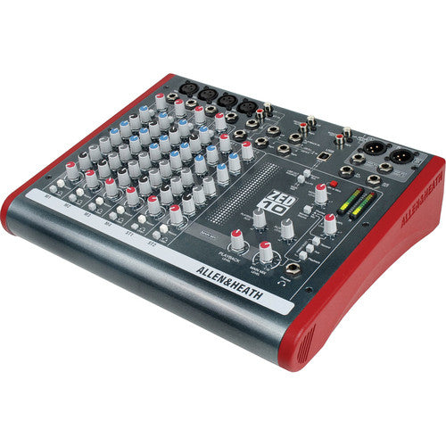 ALLEN & HEATH ZED-10FX MIXER - 4 MONO / 2 STEREO WITH USB