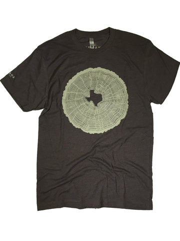Texas Tree Rings Tee