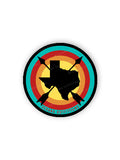 Texas Arrows Bullseye Sticker