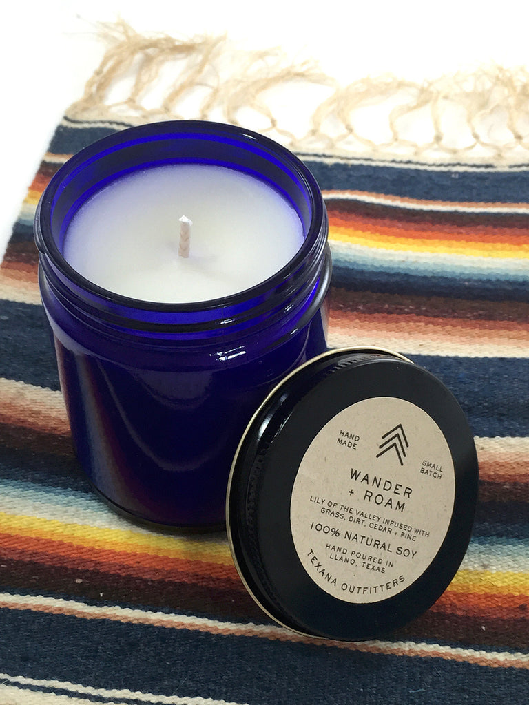 Wander + Roam Soy Candle