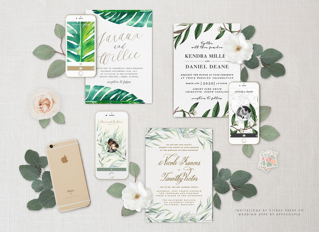 Wedding Invitations | AppyCouple wedding App