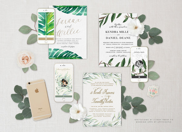 <h1>Wedding Invitations | AppyCouple wedding App</h1>