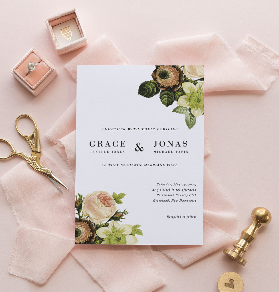 Wedding Invitations | Unique wedding invitations