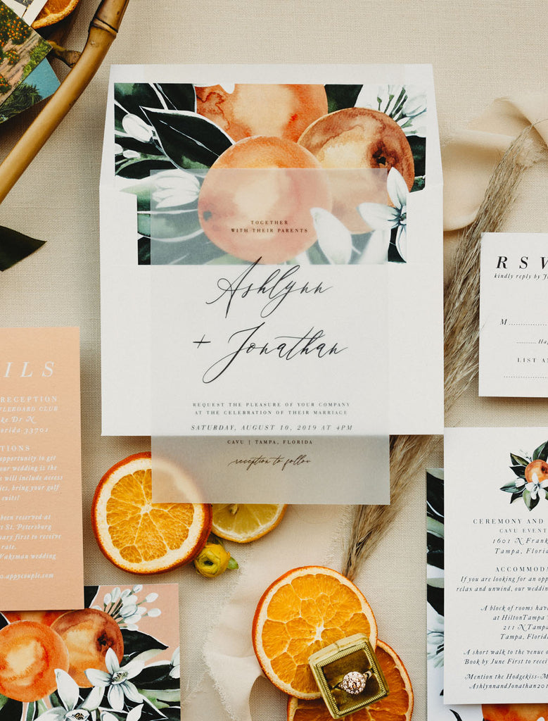 Old Florida Wedding Inspiration With Citrus and Industrial Details | Cavu Tampa