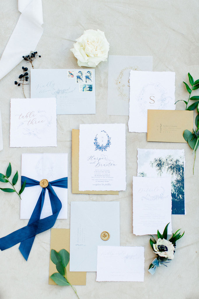 Romantic Blue and Greenery Wedding | The Vinoy Renaissance St. Petersburg