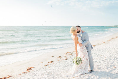 Real Destination Wedding | Beach Resort Postcard Inn St.Pete FL