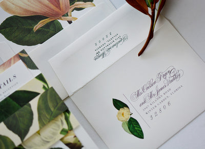 How to Guest Address Your Wedding Envelopes