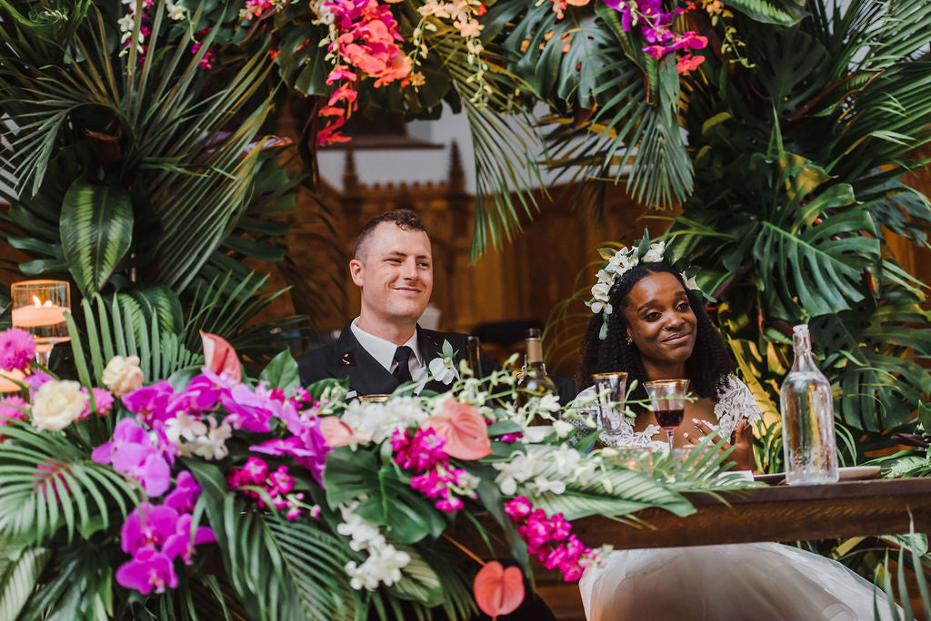 Bougainvillea Tropical Wedding Destination  Inspiration Citrus Press Co AllSaints Events Ottawa