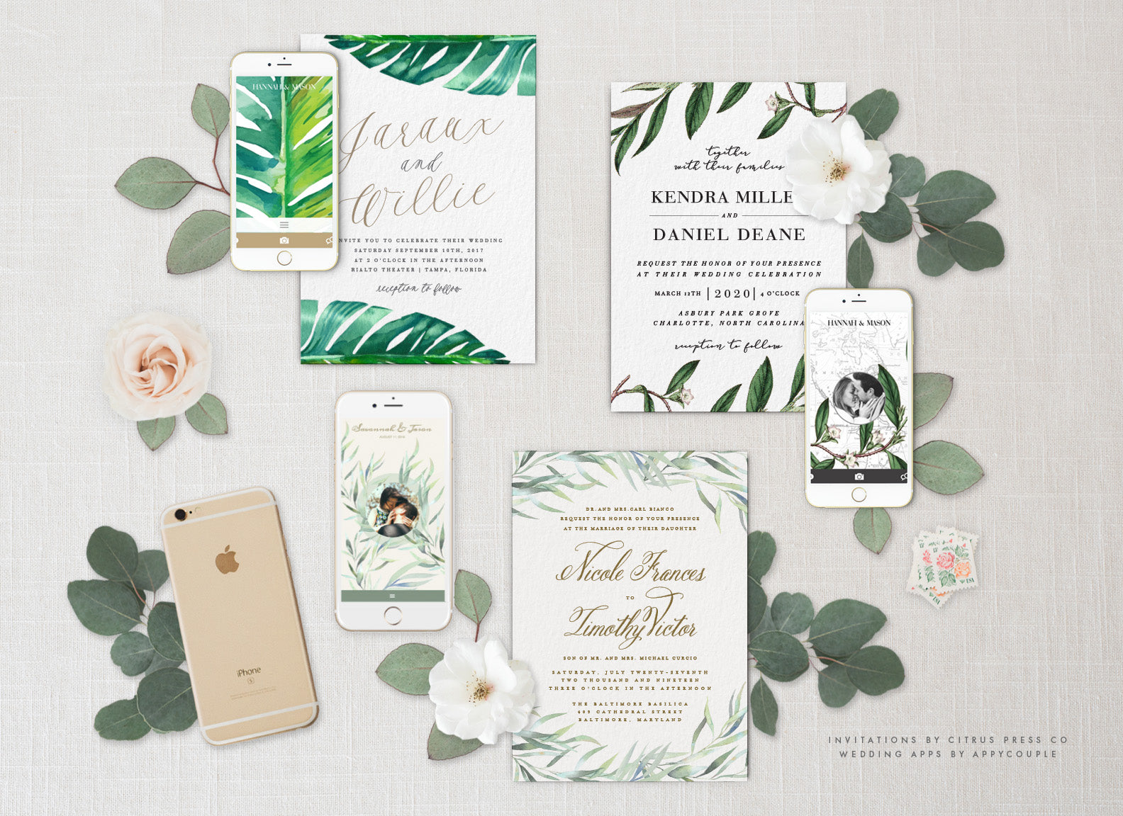Wedding Invitations Appycouple Wedding App