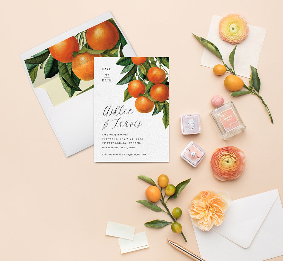 Florida wedding Invitation
