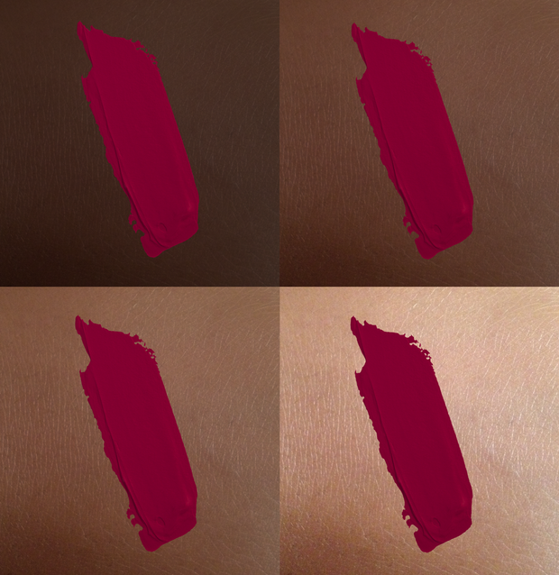 Trust Fund Beauty - Play Nice Liquid Lipstick swatches