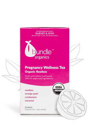 Bundle Organics Organic Rooibos Pregnancy Wellness Tea