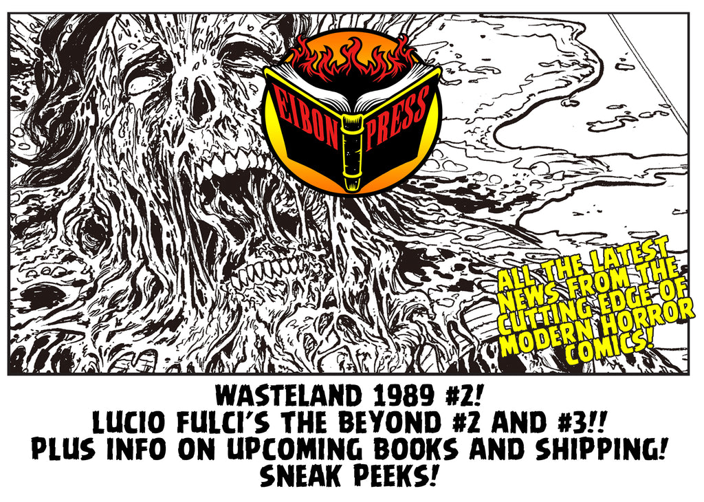 24 Hour Valentines Day Sale! Beyond #2 and #3 Sneak Peeks and Wasteland 1989 #2 NEWS!