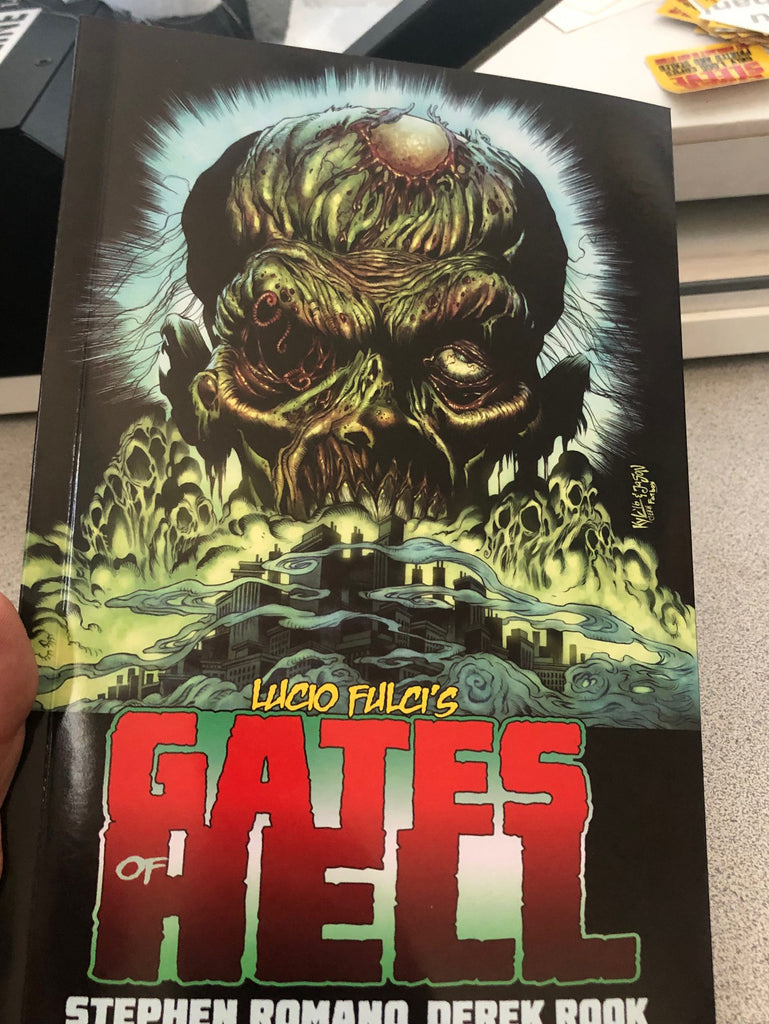 Gates Of Hell Trade Paperbacks are IN! Shipping Begins MONDAY! The Beyond On Sale TOMORROW!