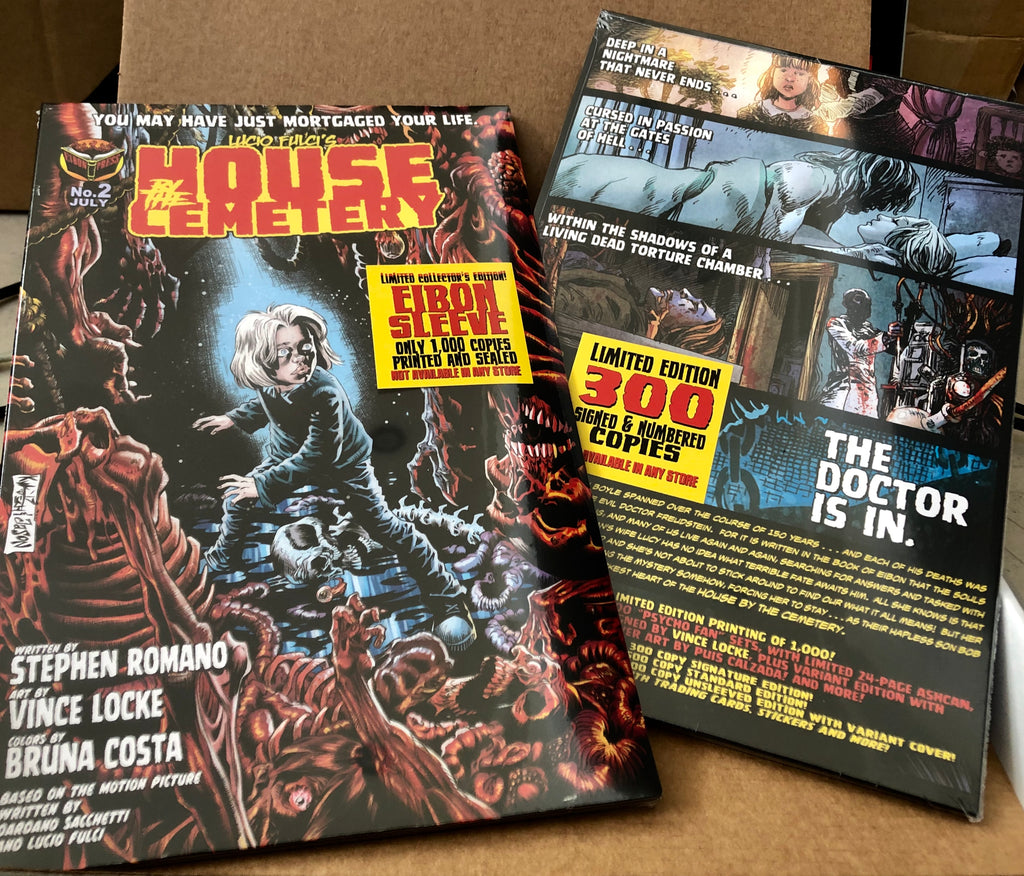 House By The Cemetery Issue #2 NOW SHIPPING.