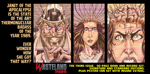 50% Orders Begin Shipping Wed! Wasteland Issue #3 On Sale May 14th!