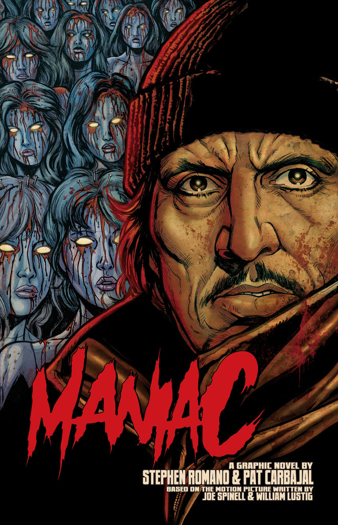 Maniac Standard Editions Signed With Extras ALMOST GONE! Only 50 Copies Left!