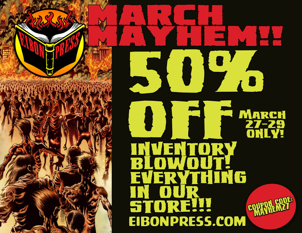 Wasteland 1989 Issue #2 On Sale March 27th Plus 50% OFF MARCH MAYHEM SALE!