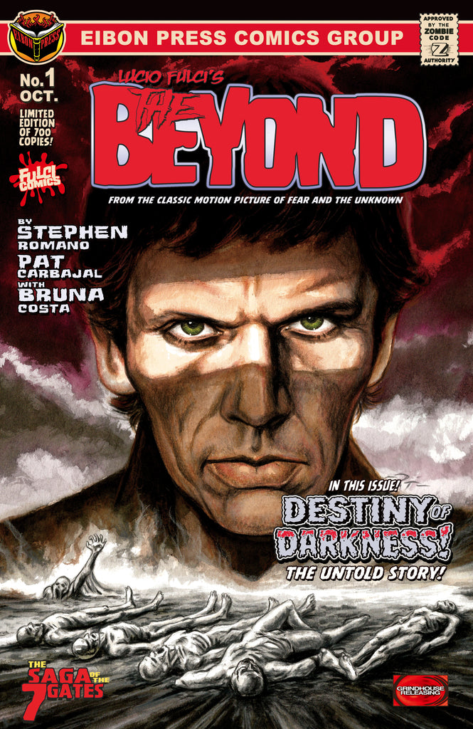The Beyond Issue #1 Cover Revealed! Plus More NEWS On Pre-Orders And MORE!