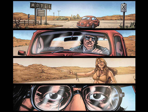 Maniac And Beyond #4 UPDATE! Plus Maniac 2: Roadkill Sneak Peeks!