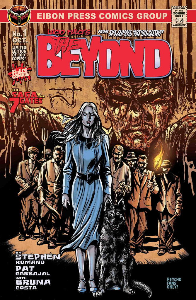 THE BEYOND ISSUE #1 IS NOW ON SALE!!!