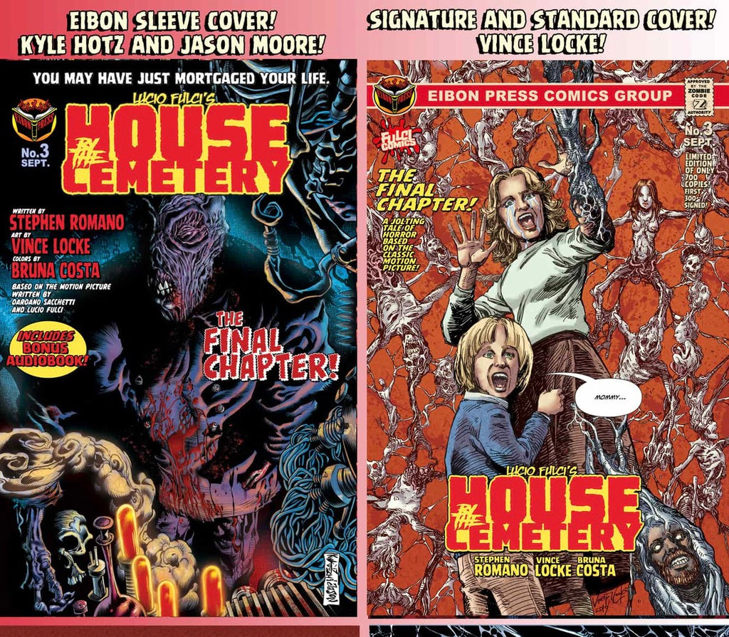 HOUSE BY THE CEMETERY #3: THE FINAL ISSUE is coming AUGUST 23!