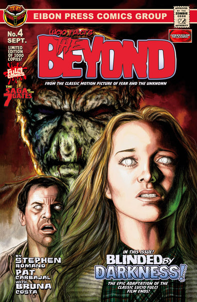 The Beyond Issue #4 Standard Edition! Includes Exclusive Trading Card and Bookmark! Only 600 Copies!
