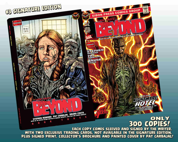 The Beyond Issue #3 Signature Edition! Signed And Numbered Comic, Signed Art Print and 2 Exclusive Trading Cards! - Only 300 Copes!