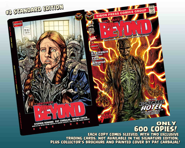 The Beyond Issue #3 Standard Edition! Includes 2 Exclusive Trading Cards! Only 600 Copies!