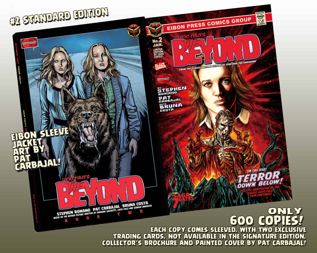 The Beyond Issue #2 Standard Edition! Includes 2 Exclusive Trading Cards! Only 600 Copies!