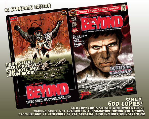 The Beyond Issue #1 Standard Edition! Includes 7 Doors Of Death Soundtrack CD and 2 Exclusive Trading Cards! Only 600 Copies!