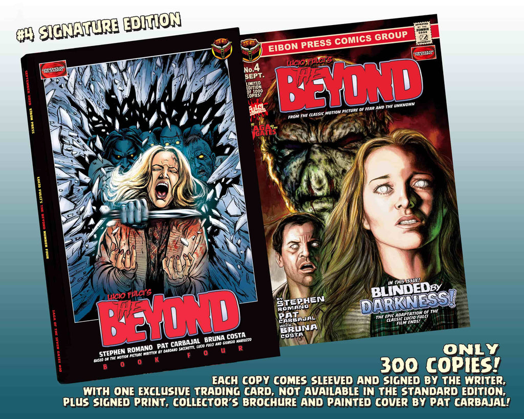 The Beyond Issue #4 Signature Edition! Signed And Numbered Comic, Signed Art Print and Exclusive Trading Card! - Only 300 Copes!