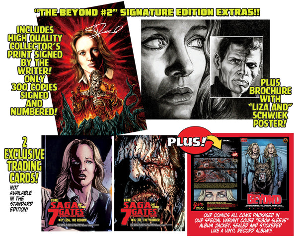 The Beyond Issue #2 Signature Edition! Signed And Numbered Comic, Signed Art Print and 2 Exclusive Trading Cards! - Only 300 Copes!