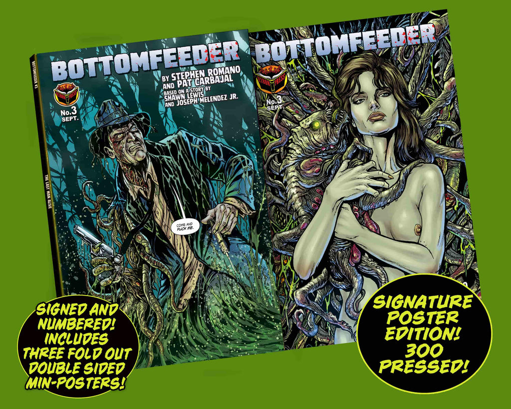 Bottomfeeder Issue #3 Signature 3-Poster Edition! - Only 300 copies!